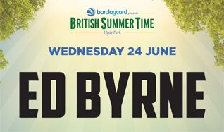 Ed Byrne tickets at Hyde Park in London