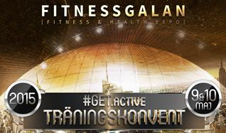 Fitnessgalan & Wellnessgalan #Get.Active Träningsevent tickets at Ericsson Globe in Stockholm