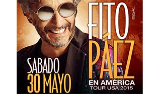 Fito Páez en Concierto tickets at The Warfield in San Francisco