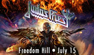 Judas Priest tickets at Freedom Hill Amphitheatre in Sterling Heights