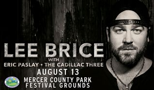 Lee Brice tickets at Mercer County Park Festival Grounds in West Windsor Township