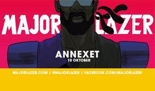 Major Lazer tickets at Annexet in Stockholm