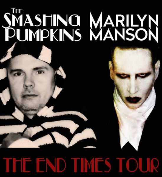 The Smashing Pumpkins & Marilyn Manson are teaming up for The End Times Tour