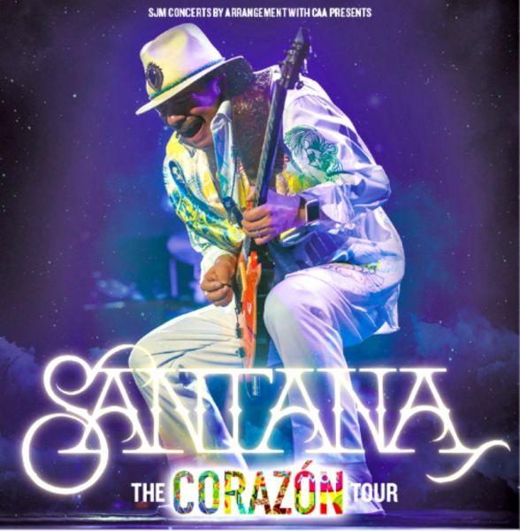 CARLOS SANTA... Santana Tour 2017