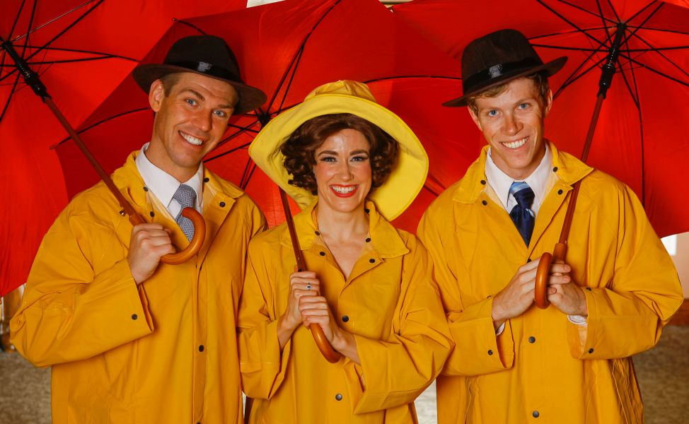 'Singin' in the Rain' at Candlelight Dinner Playhouse