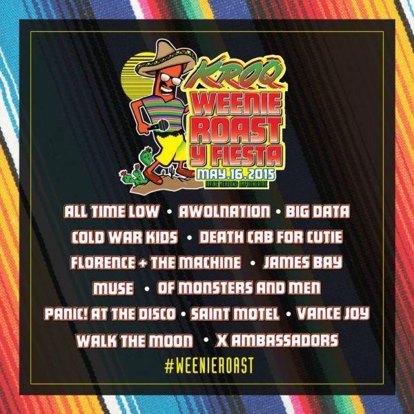 KROQ Weenie Roast y Festival 2015