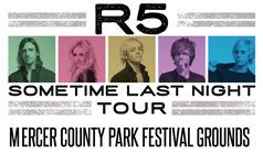 R5 tickets at Mercer County Park Festival Grounds in West Windsor Township