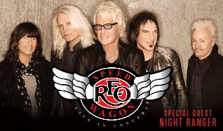 REO Speedwagon tickets at Freedom Hill Amphitheatre in Sterling Heights