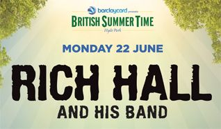 Rich Hall and His Band tickets at Hyde Park in London