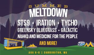 Summer Meltdown Festival tickets at Whitehorse Mountain Amphitheater in Arlington