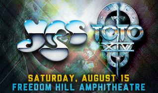 YES & Toto tickets at Freedom Hill Amphitheatre in Sterling Heights