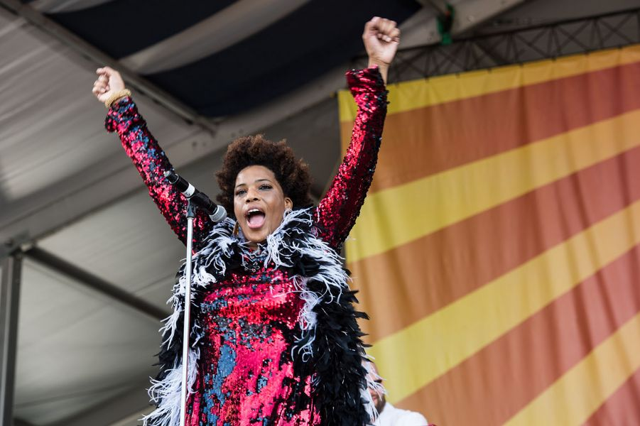 Galactic and Macy Gray deliver the funk and the soul to Jazz Fest (PHOTOS)