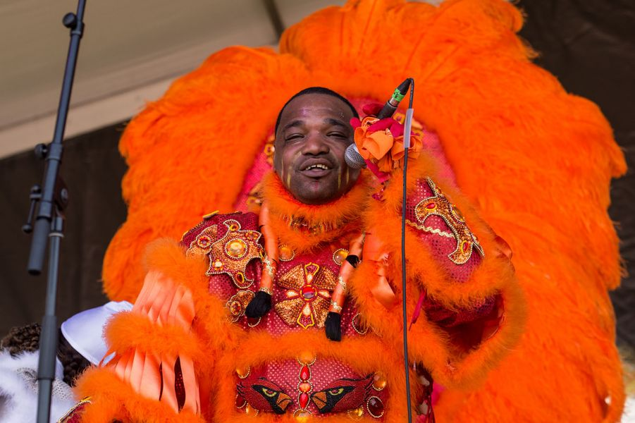White Cloud Hunters mystify on the stage at New Orleans Jazz Fest (PHOTOS)