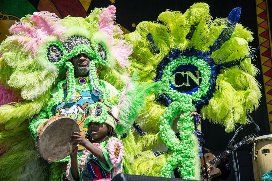 Donald Harrison brings different Mardi Gras Indians flare to Jazz Fest (PHOTOS)