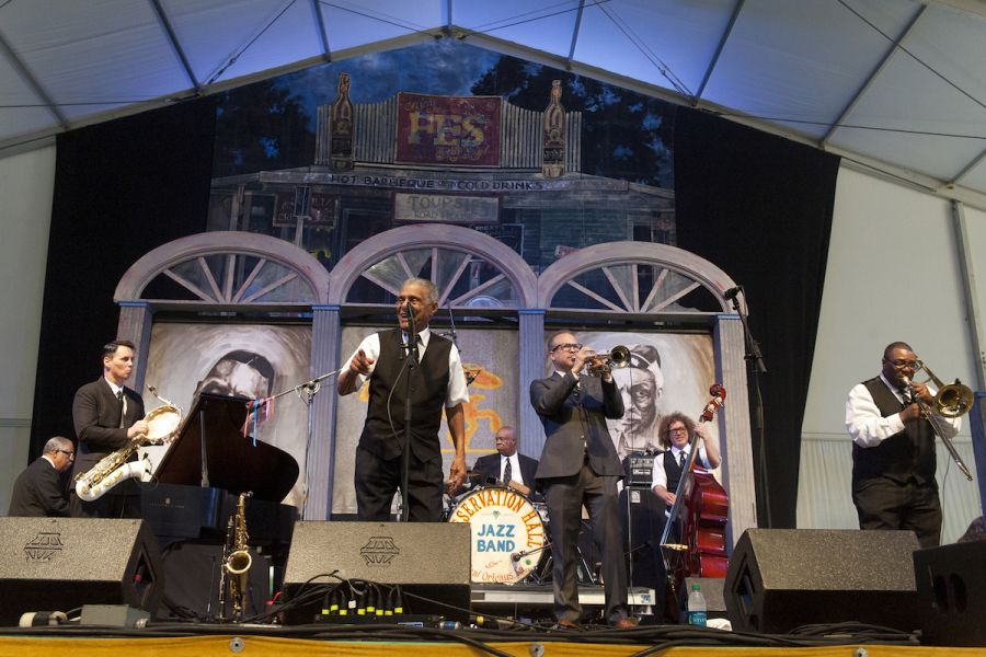 No Jazz Fest is complete without the Preservation Hall Jazz Band (PHOTOS)