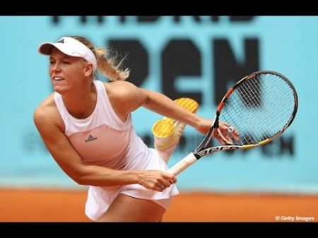 Wozniacki sends McHale packing at Madrid Open