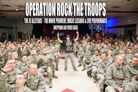 JC Allstars premiere Operation Rock the Troops