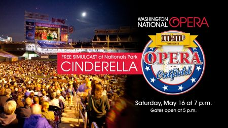 Opera in the Outfield comes to Nationals Park on May 16