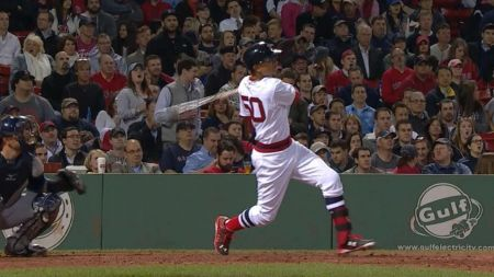 Mookie Betts powers two homeruns to lift Red Sox over Rays, 2-0