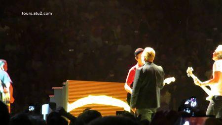 U2 returns like troupers