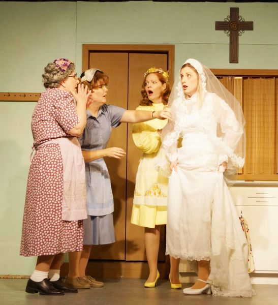 "A talented cast bring the story of a small Minnesota church to life in ""Church Basement Ladies,"" now playing at The Chestnut Fine Arts Cente"