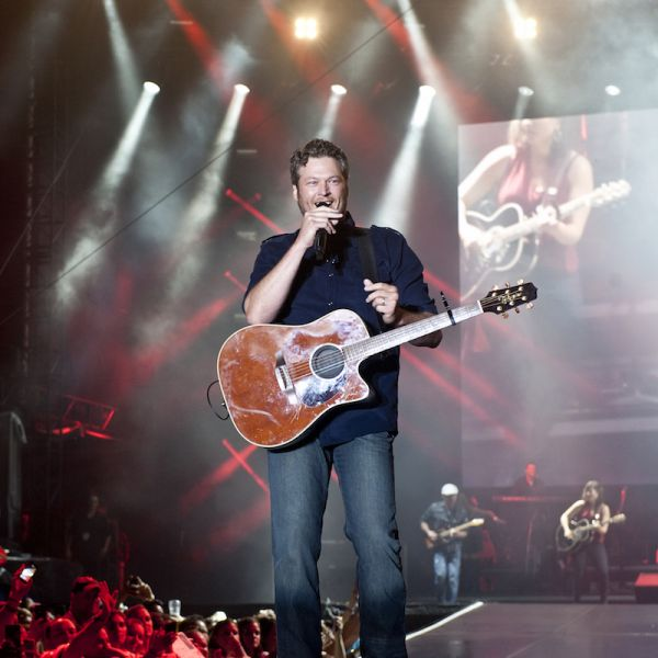 In Photos: After the rain, Bayou Country Superfest revels in Blake Shelton