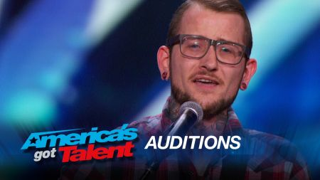 Johnny Shelton stands out with cherished song for son on 'America's Got Talent'
