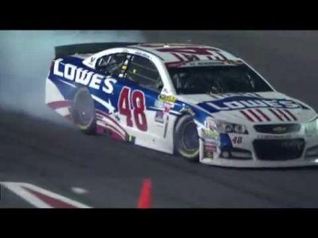 Jimmie Johnson among three drivers penalized after Charlotte NASCAR race