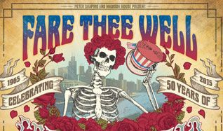Grateful Dead Final Show Fare Thee Well Live  ... tickets at The National in Richmond
