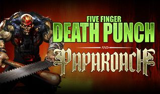 Five Finger Death Punch & Papa Roach tickets at Citizens Business Bank Arena in Ontario
