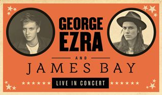 George Ezra & James Bay tickets at Sherbourne Common in Toronto