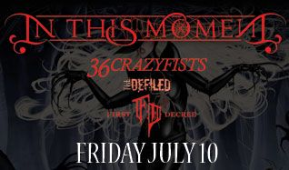 In This Moment tickets at Starland Ballroom in Sayreville