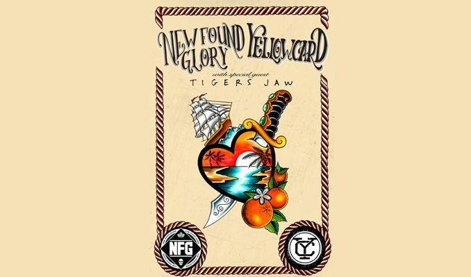 New Found Glory & Yellowcard tickets at PlayStation Theater in New York