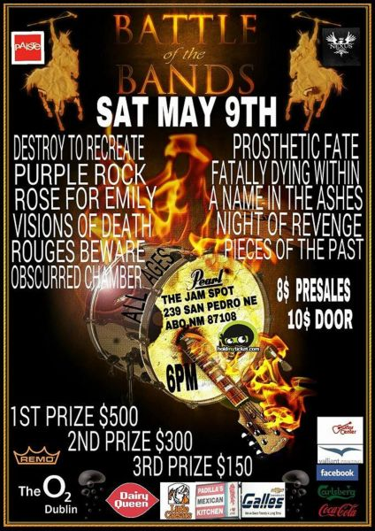 Albuquerque's The Jam Spot hosts a battle of the bands on May 9