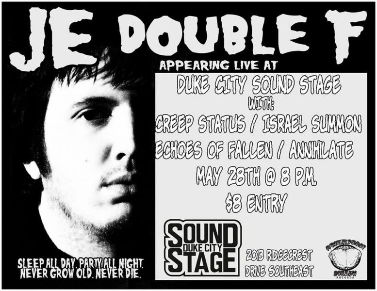 JE Double F and more perform at Albuquerque's Duke City Sound on May 28.