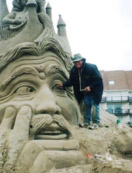 International Sand Sculpting Champion John Gowdy