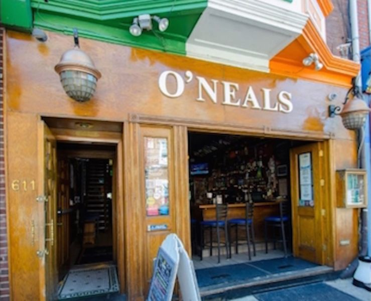 "O""Neals, the oldest operating Irish pub in Philly"