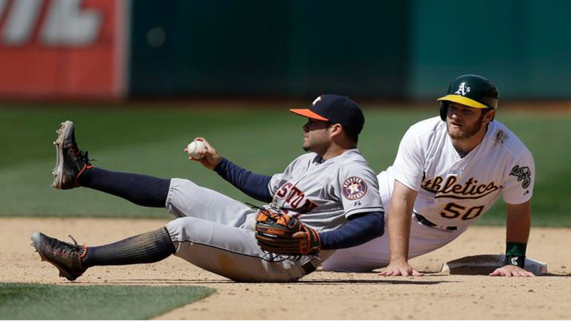 Jose Altuve is at it again, having been delivered the honors of American League Co-Player of the Week. He shares the award with Oakland righ