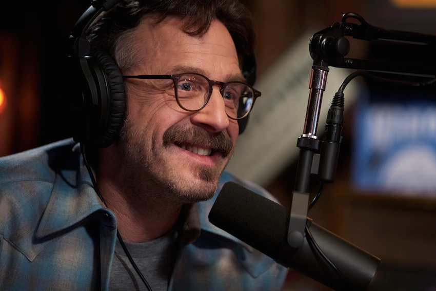 """WTF"" host Marc Maron is filming his new comedy special at The Vic Theatre in Chicago on June 6."