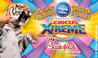 Ringling Bros. and Barnum & Bailey Circus: Circus Xtreme tickets at STAPLES Center in Los Angeles