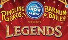 Ringling Bros. and Barnum & Bailey presents Legends tickets at Sprint Center in Kansas City