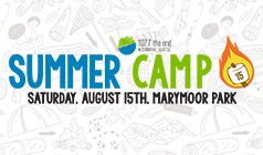 Summer Camp 2015 tickets at King County's Marymoor Park in Redmond