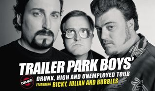 Trailer Park Boys tickets at Annexet in Stockholm