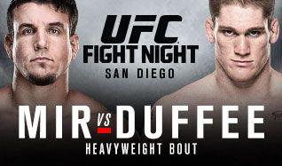 UFC tickets at Valley View Casino Center in San Diego
