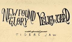 Yellowcard/New Found Glory tickets at The Showbox in Seattle