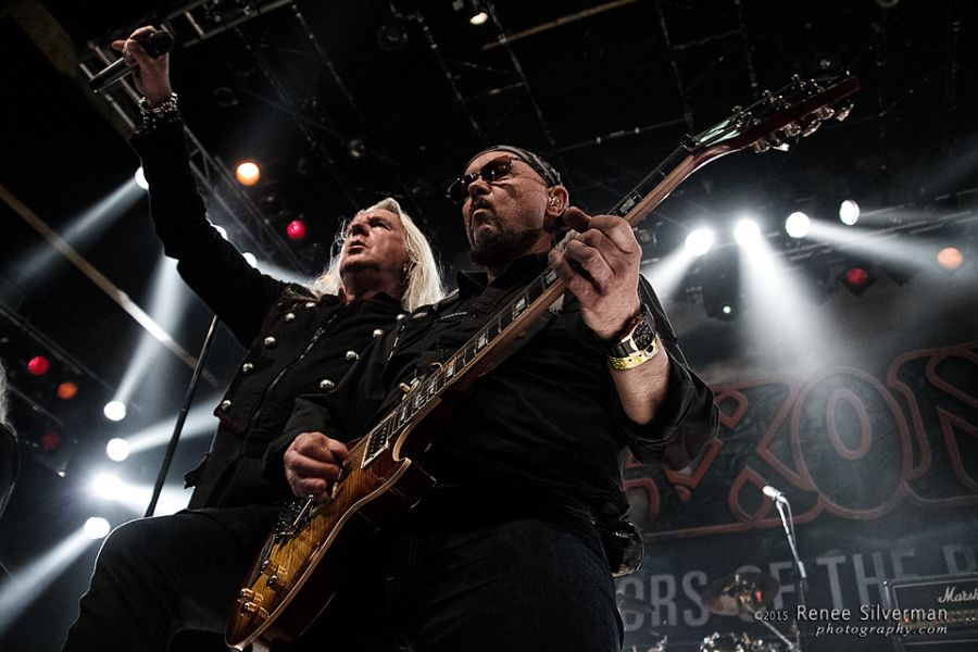 Saxon plays House of Blues, Sunset Strip to a sell-out crowd