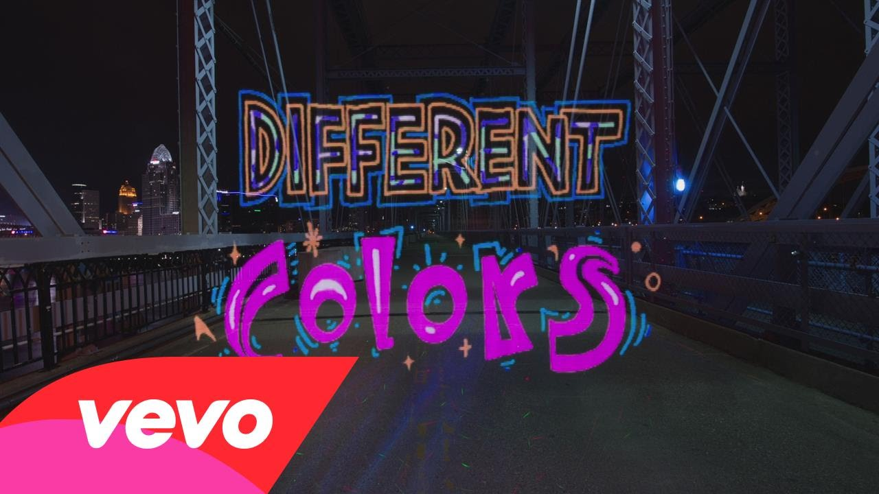 Walk the Moon paints the town 'Different Colors' in new lyric video