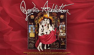 Jane's Addiction tickets at The Warfield in San Francisco