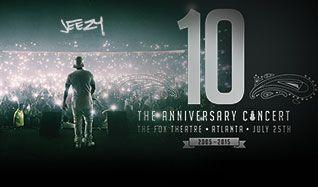 Jeezy tickets at Fox Theatre in Atlanta