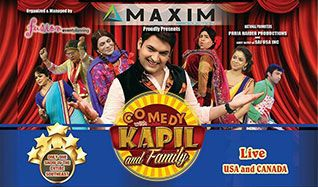 KAPIL & Family													 tickets at The Arena at Gwinnett Center in Duluth